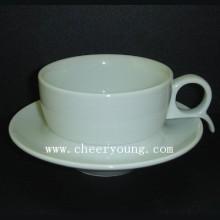 Porzellan-Espresso-Tasse und Untertasse (CY-P527)