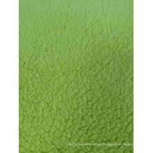 100% Polyester Sherpa Fleece aus massivem Strickstoff