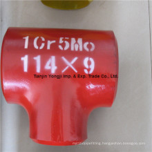 Cr5mo Welded Pipe Fittings Tee