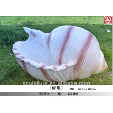 Modern Large Fiber glass Abstract Arts Sculpture for Garden decoration