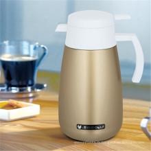 Pot à café à double paroi en acier inoxydable
