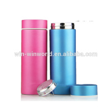 Novelty Handy Stainless Steel Thermos Water Bottle With Strainer