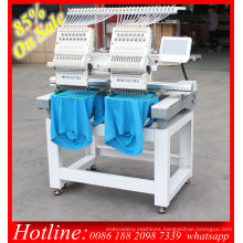 Holiauma Double Head 15 Color Computer Embroidery Machine Price for T-Shirt Cap 3D Embroidery