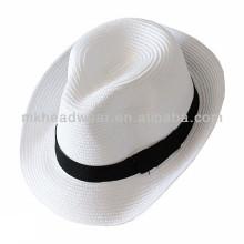 2014 Venta al por mayor de papel de moda unisex paja buque sombrero