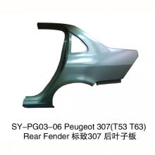 Rear Fenders for Peugeot 307