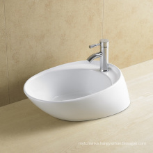 Irregular Ceramic Art Basin for Bathroom (8024)
