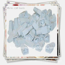 Good Quality White RJ45 cable Boot Cap for CAT 5/5e/6 Ethernet cables