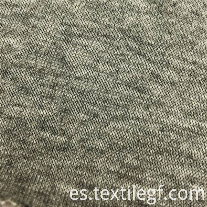 Polyester Fleece Knitted Brushed Garment CVC Fabrics