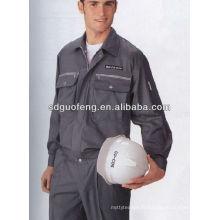 20 * 16 CVC coton / polyester ignifuge ignifuge vêtements en tissu sergé