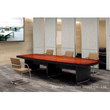 Table de conférence moderne de bureau en bois de haute qualité (HF-Ltd116)