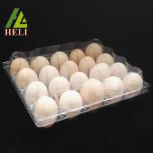 Plateau à œufs de poulet Henapple en plastique transparent