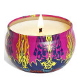Soy wax message tin scented candle