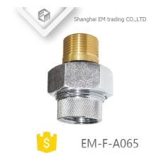 EM-F-A065 Raccords en laiton nickelé en cuivre nickelé