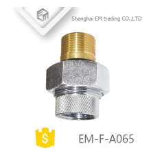 EM-F-A065 Latão banhado a níquel cobre rússia acessórios para tubos