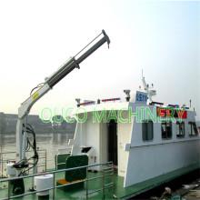 0.35t3.5m Hydraulic Folding Knuckle Deck Marine Crane