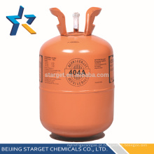 Cilindro descartável 10,9 kg / 24 lb refrigerante misturado R404A gás