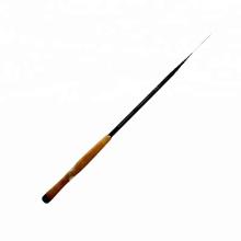 TENR001graphite barra de pesca tenkara en blanco poste telescópico de fibra de carbono