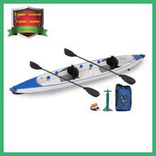 Caiaque inflável Drop Stitch, Sente-se no Top Ocean Kayak