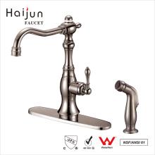 Venta directa de la fábrica de Haijun Inicio Manija sola grifo del fregadero mezclador de cocina Grifo