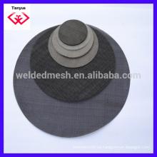 Acero inoxidable de metal filtro de malla de uso para el agua del aceite de filtrado de líquidos de trabajo