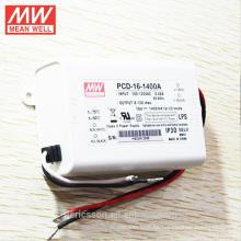Controlador LED regulable MeanWell PCD-16-1400A 16W 1400mA