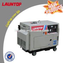 5.5kw Silent Diesel-Generator mit 4-Takt, luftgekühlten, Single-Zylinder-Motor