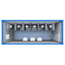 Shower Container/Shower Room/Shower with Separated Cabin (shs-fp-ablution024)