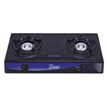 Most Popular Stainless Steel Gas Stove, Two Burners.