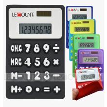 8-stellig Dual Power Silicon Faltbarer Taschenrechner mit Magnet (LC510A)