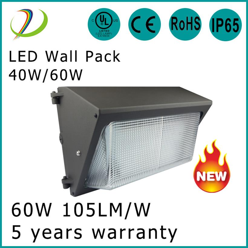 Utomhus LED WALL Pack 60W