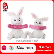 Juguete de peluche con conejo y felpa de Pascua