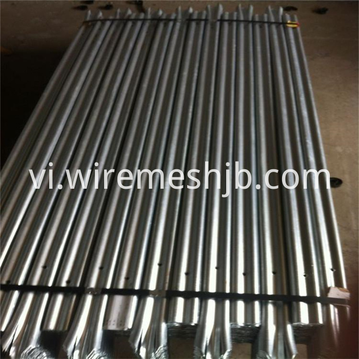 Steel Palisade Fence Panels