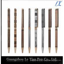 Bolígrafo delgado con cuentas de cristal Bolígrafo metálico Slim 2016