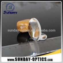 dia 25.4mm longueur focale 25.4mm BK7 lentilles optiques biconvexes