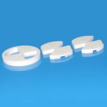 Customized Wear Resistant Alumina Ceramic Valve Disc