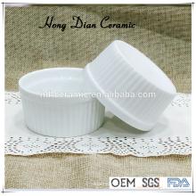 ceramic mini baking dish,round ceramic baking dish,ramekin,ice cream bowl,pie dish