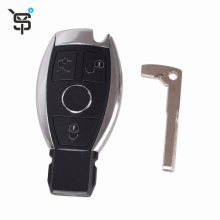 Top quality smart remote key shell for Benz 3 button smart remote key shell YS200126