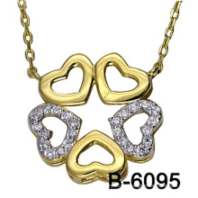 Fábrica al por mayor colgante de joyería de moda de plata 925