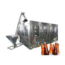 Lavage Remplissage de la ligne d'emballage de bière de capsulage