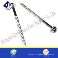 Zinc Finished Wood Screw with Grade 8.8