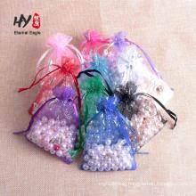 ribbon organza mesh wholesale bag for gifts