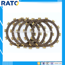 China supplier 24.92g motorcycle clutch friction plates for GS