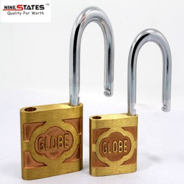 Joint Globe Brass Padlock