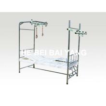 A-140 Тройная кровать с ортопедическим типом с отделяемыми ногами