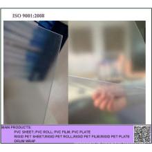 0.4mm prägeartige / glatte klare starre PVC-Plastikblatt für faltenden Kasten
