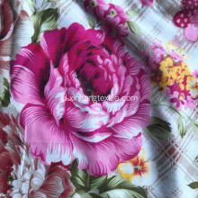 100% polyester microfiber print sheet fabric