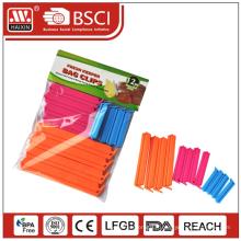 Clips(12PCS) étanchéité hermétique en plastique