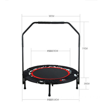 Cheap Indoor Exercise Jumping Trampolines With Handle Bar