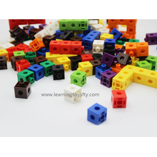 Plastic Educational Toy Snap Linking Cubes (K002)