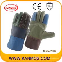 Кожаные рабочие перчатки из нержавеющей стали (31010)